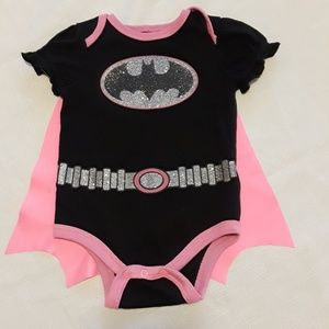 Other - Pink Batman Onesie